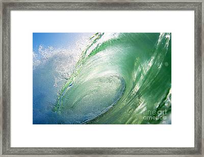 Framed Print featuring the photograph Green Machine by Paul Topp