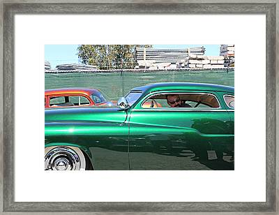 Green Merc Framed Print