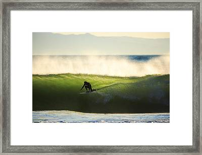 Framed Print featuring the photograph Green Monster C6j9362 by David Orias