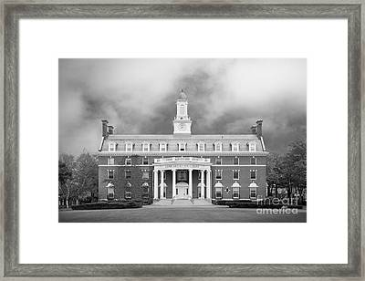 Green Mountain College Ames Hall Framed Print by University Icons