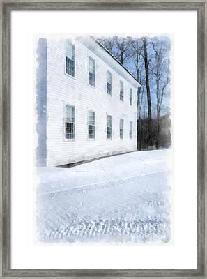 Green Mountain Perkins Academy Framed Print