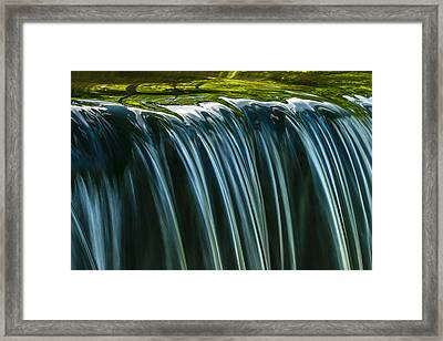 Framed Print featuring the photograph Green by Muhie Kanawati