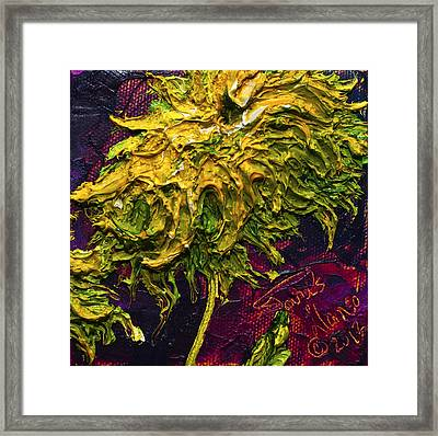 Green Mum Framed Print by Paris Wyatt Llanso