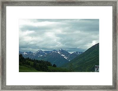 Green Pastures And Mountain Views Framed Print by Aimee L Maher Photography and Art Visit ALMGallerydotcom