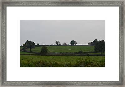 Green Pastures Framed Print