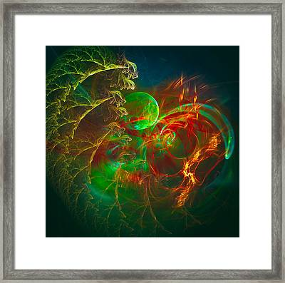 Green Pearl Framed Print
