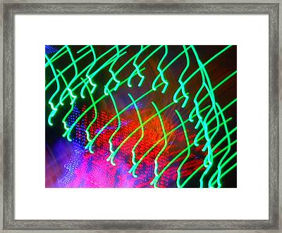 Green Power Framed Print by James Welch