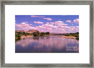 Framed Print featuring the photograph Green River by Chris Tarpening