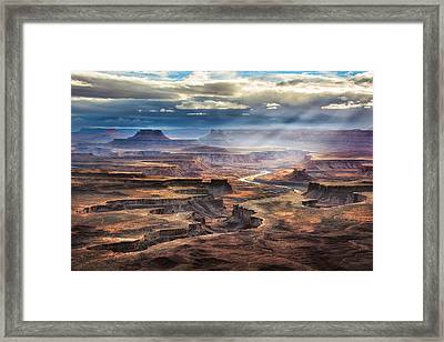 Green River Overlook Framed Print by Michael Ash