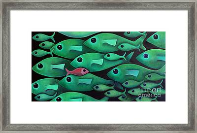 Green School 1 Framed Print