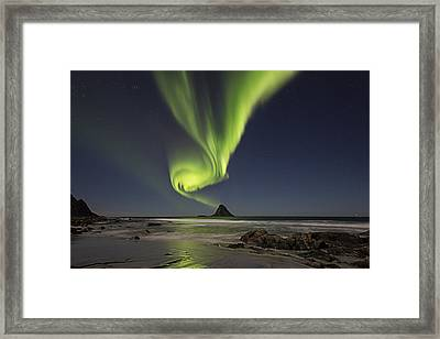 Green Smoke II Framed Print
