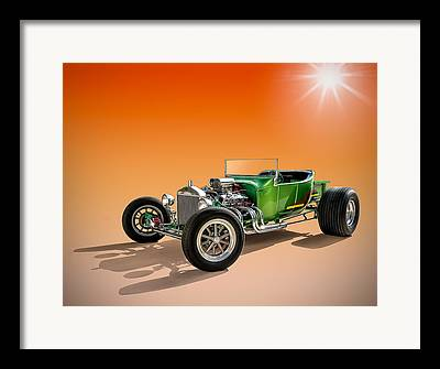 T Buckets T Bucket Roadster Framed Prints