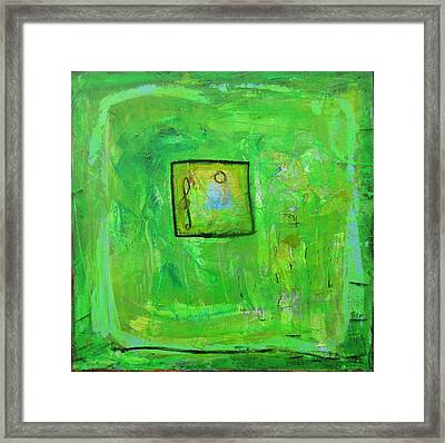 Green Tea And Music Framed Print