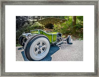 Green Tee Framed Print by Paul Barkevich