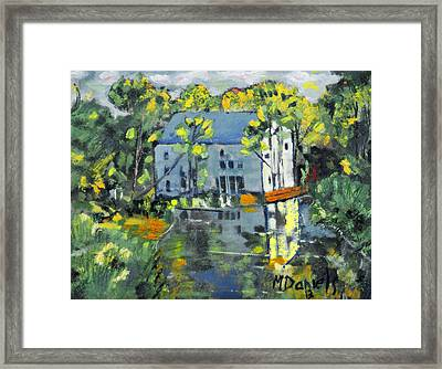 Green Township Mill House Framed Print