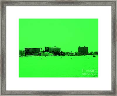 Green View. Special... Framed Print