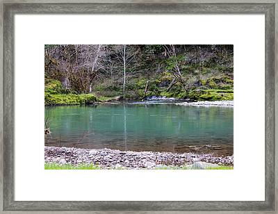 Green Waters  Framed Print by Tim Rice