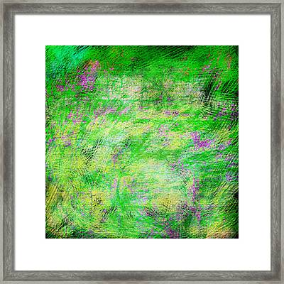 Green With Envy Series II Framed Print by Marianne Campolongo