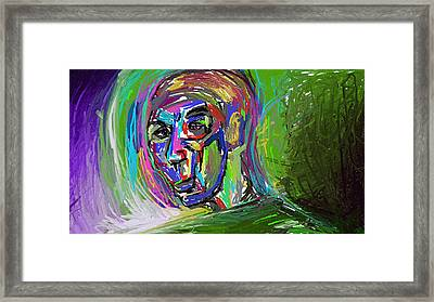 Green With... Framed Print by J Bern Hunt
