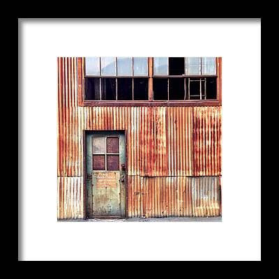 Rust Framed Prints