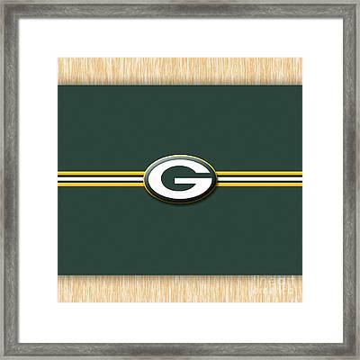 Greenbay Packers Framed Print