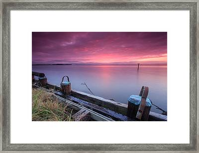 Greenbury Point Sunrise Framed Print