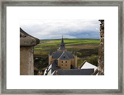 Greener Pastures Beyond Framed Print by Lorraine Devon Wilke