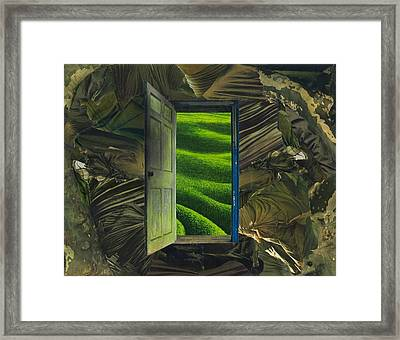 Greener Pastures Framed Print by Denise Mazzocco