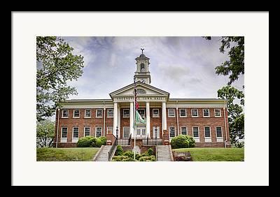 Town Of Franklin Framed Prints