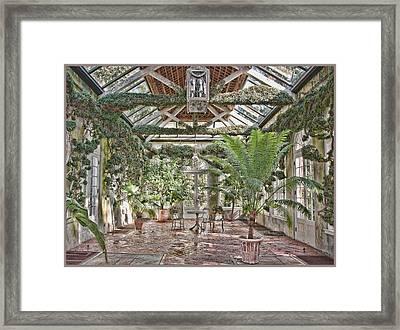 Greenhouse Splendor Framed Print by Elin Mastrangelo