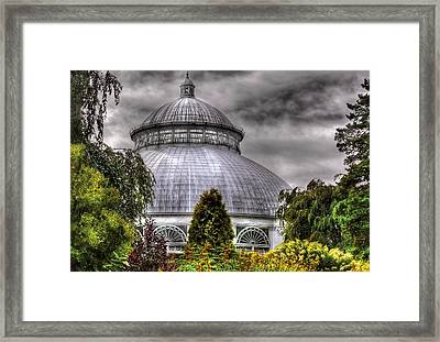 Greenhouse - The Observatory Framed Print by Mike Savad