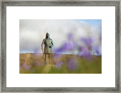 Greenland, Erik's Fjord, Brattahlid Framed Print by Aliscia Young