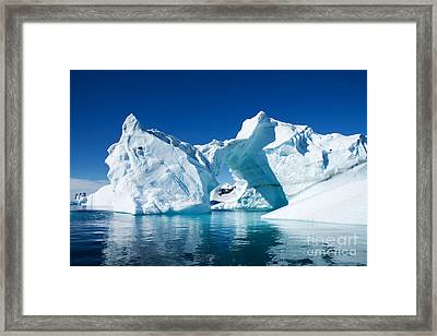 Greenland Iceberg Framed Print by Boon Mee