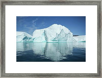 Greenland, Scoresby Sund, Red Island Framed Print by Aliscia Young