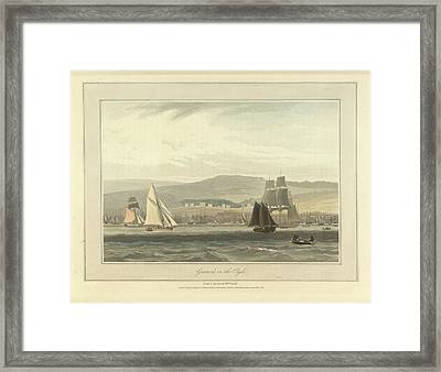 Greenock On The River Clyde Framed Print by British Library