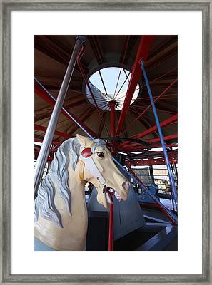 Greenport Carousel Greenport New York Framed Print