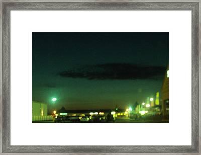Greenscape Framed Print by Cynthia Harvey