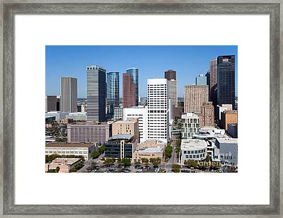 Greenstreet Houston Framed Print