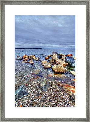 Framed Print featuring the photograph Greenwich Bay by Alex Grichenko