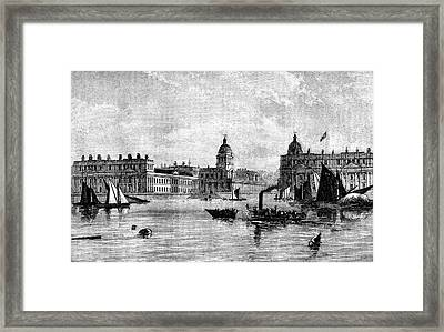 Greenwich Hospital Framed Print by Collection Abecasis