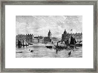 Greenwich Hospital Framed Print