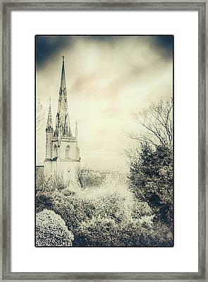 Greenwich Spires Framed Print