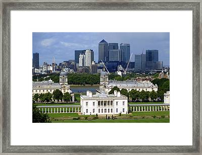 Greenwich View Framed Print by Donald Turner