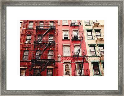 Greenwich Village  Framed Print by Kim Fearheiley