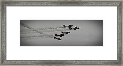 Greenwood Lake Airshow Northeast Raiders Framed Print