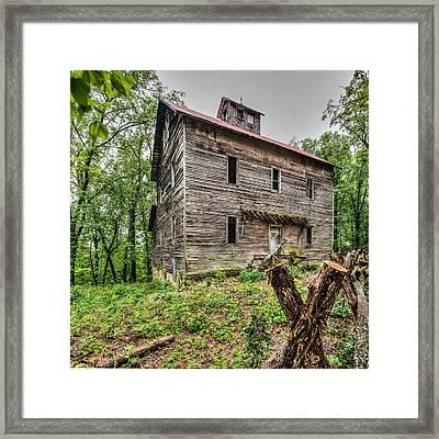 Greer Mill Framed Print by Paul Freidlund