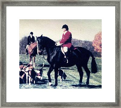 Greeting The Master Framed Print by Angela Davies