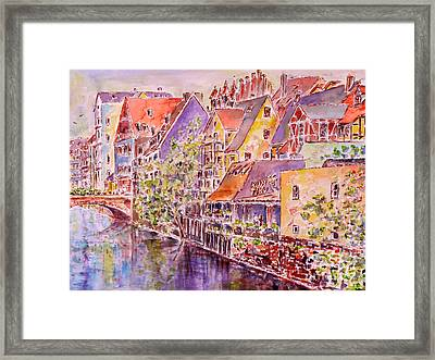 Greetings From Nuremberg Framed Print