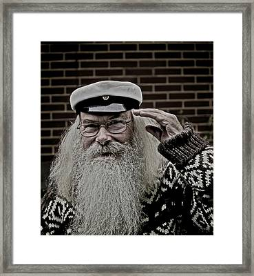Greetings From The Road Framed Print by Odd Jeppesen