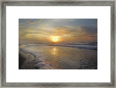 Greetings From Topsail Framed Print